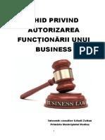Ghid Privind Autorizarea Functionarii Unui Business