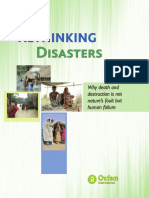 Rethinking Disasters