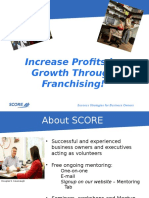 Increase Profits by Growth Through Franchising