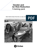 Gender and Disaster Risk Reduction