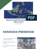 Presentasi Negara Maritim GMNI Halim 090916