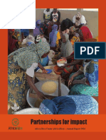 Partnerships for impact - AfricaRice Annual Report 2014