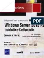 70-410 Windows Server 2012 R2 - Instalación y Configuración