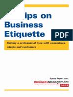 Business Etiquette 101