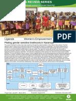 Women's Empowerment in Uganda