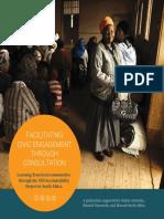 Facilitating Civic Engagement through Consultation