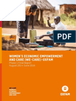 Women's Economic Empowerment and Care (WE-Care) – Oxfam