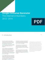 Raport Consumer Barometer 2012-2016