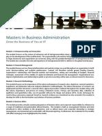 Course Catalog - MBA
