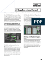 Yamaha PM5D Supplementary Manual