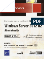 70-411 Windows Server 2012 R2 - Administración