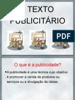 O Texto Publicitário