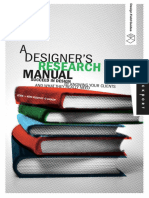 A Designers Research Manual