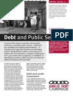 Debt and Public Services
