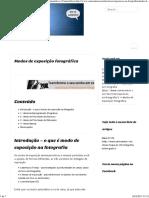 Modos de Exposição Fotográfica - Manual e Semiautomáticos _ CameraNeon