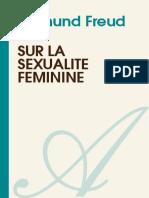 SIGMUND FREUD-Sur La Sexualite Feminine