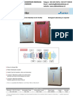 Air Sterilized Purifier