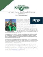 NCGG Irish Festival Grand Marshals 2017