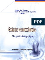 Support Pedagogique GRH