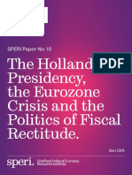 Clift, Ben - The Hollande Presidency the Eurozone Crisis the Politics of Fiscal Rectitude.pdf