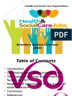 Health and Social Care Organisations