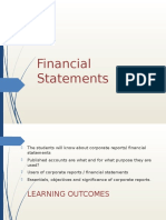 Lect 12-13 Financial Statements