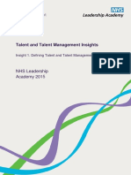 Defining Talent and Talent Management2