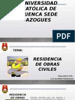 Residencia de Obras Civiles