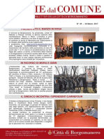 Notizie Dal Comune di Borgomanero del 2 Marzo 2017