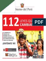112 Leyes que cambian vidas