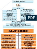 Alzheimer Farmakoterapi