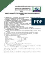 Termo de Referencia - IVF Inventário Florestal Para Supressão 10-06-2011