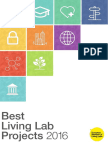 Living Lab Projects for Best Living Lab Project Award