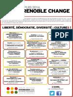Grenoble Change #3 - Liberté, démocratie, diversité