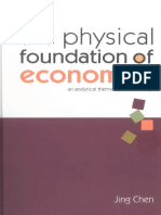 Jing Chen-The Physical Foundation of Economics_ an Analytical Thermodynamic Theory-World Scientific Publishing Company (2005)