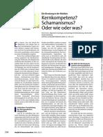Notfall & Hausarztmedizin Volume 32 issue 7 2006 [doi 10.1055%2Fs-2006-949595] Fuchs, Peter -- Kernkompetenz_ Schamanismus_ Oder wie oder was_.pdf