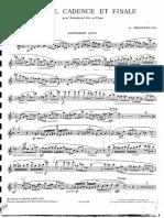 Desenlos Prelude Cadence Et Fiale