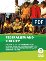 Federalism and Fidelity