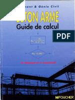 Béton Armé, Guide de Calcul Bâtiment Et Génie Civil 1991