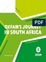 Oxfam's Journey in South Africa
