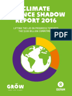 Climate Finance Shadow Report 2016