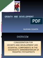 Nuryani Sidarta. Growth and Development