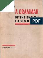 A Grammar of the English Language by V.L. Kaushanskaya et al.