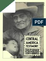 Central America Testimony