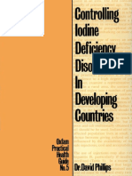 Controlling Iodine Deficiency Disorders in Developing Countries