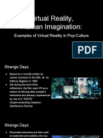 Virtual Reality, Human Imagination