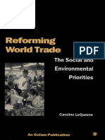 Reforming World Trade