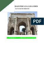 La Propiedad y La Posesion en El Derecho Romano TRABAJO UPLA