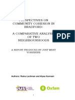 Perspectives on Community Cohesion in Bradford