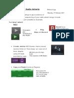 ab pt2 - radio adverts evaluation